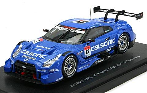 カルソニック インパル GT-R スーパーGT500 2014 Rd.2 Fuji Winner No12 (1/43 エブロ45101)