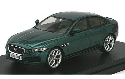 ジャガー XE S 2015 グリーン (1/43 プレミアムX PRD435)