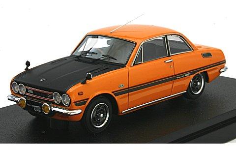 いすゞ ベレット GT タイプR (PR91W) メープルオレンジ (1/43 マーク43 PM4314P)
