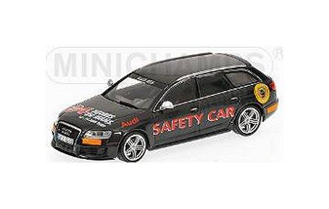 アウディ RS 6 アバント セーフティカー ルマン24時間 2009 (1/43 ミニチャンプス400017290)