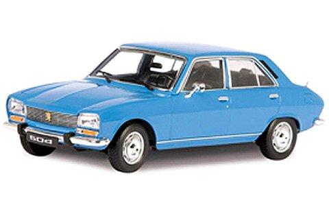プジョー 504 1975 ライトブルー (1/18 ウエリーWE18001LB)