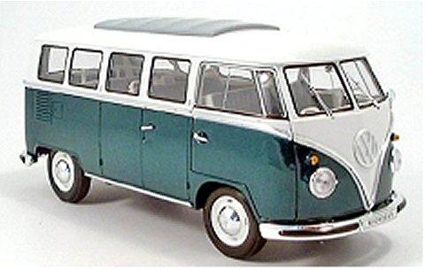 フォルクスワーゲン T1 バス 1963 ディープグリーン (1/18 ウエリーWE12531DG)