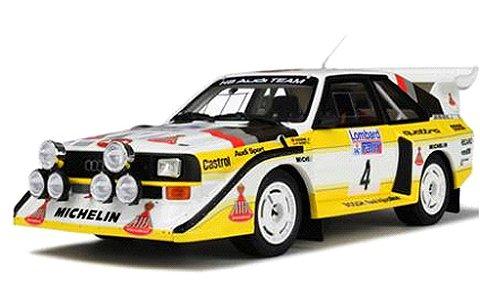 アウディ クアトロ S1 RAC 1985 ホワイト/レーシングデカール (1/18 オットモービルOTM617)