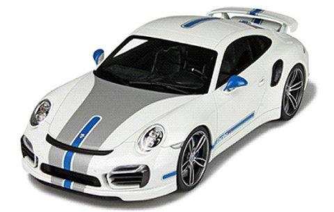 ポルシェ 991 ターボ テックアート ホワイト (1/18 GTスピリットGTS049)