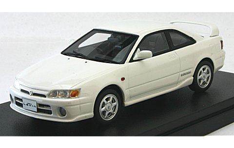 トヨタ カローラ レビン BZ-R AE111 2000 スーパーホワイト2 (1/43 ハイストーリーHS130WH)