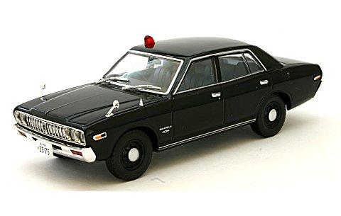 西部警察 03 ニッサン グロリア 覆面パトロールカー 黒 (1/43 トミーテック276913)