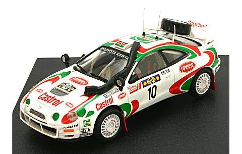 トヨタ セリカ GT Four Castrol 1996 サファリ3位 No10 (1/43 トロフュー714)