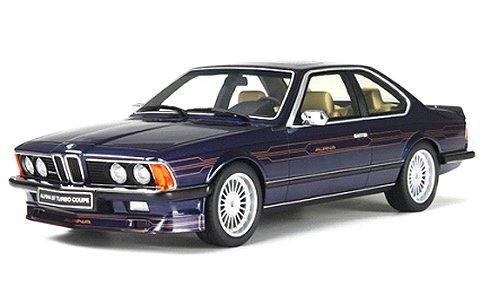 BMW アルピナ B7 ターボ ブルー/カッパーデカール (1/18 オットーモビルOTM163)