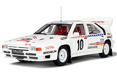 シトロエン BX 4TC グループB 1986 ホワイト/レーシングデカール (1/18 オットーモビルOTM166)