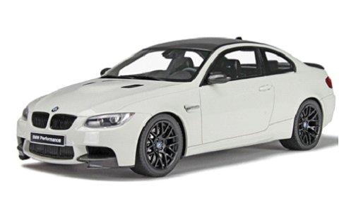 BMW M3 E92 ホワイト (1/18 GTスピリットGTS800)