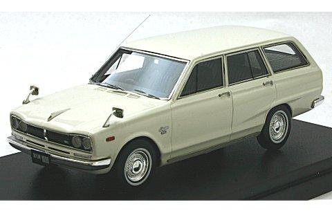 ニッサン スカイライン 1800 VAN デラックス 1970 ホワイト (1/43 ハイストーリー HS123WH)