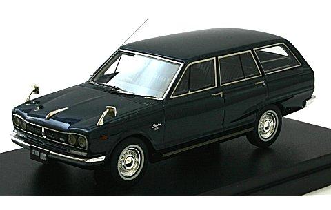 ニッサン スカイライン 1800 VAN デラックス 1970 ブルーM (1/43 ハイストーリー HS123BL)