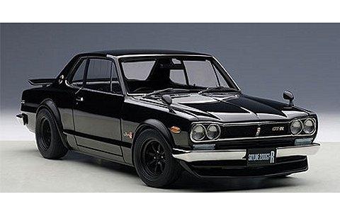 ニッサン スカイライン GT-R (KPGC10) チューン・ド・バージョン ブラック (1/18 オートアート77443)