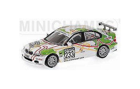 BMW 320i 「SCHUBERT MOTORS」 PRIAULX/MUELLER/HUISMAN VLN ニュルブルクリンク 2005 (1/43 ミニチャンプス400052433)