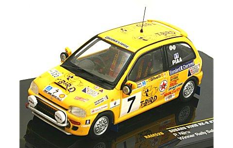 スバル ヴィヴィオ RX-R 1993 サファリラリー優勝 No7 (1/43 イクソRAM526)