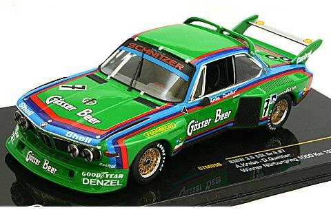 BMW 3.5 CSL 1976 ニュルブルクリンク 1000km Gr.5優勝 No7 (1/43 イクソGTM096)