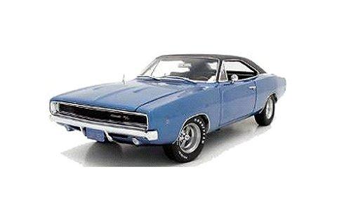 1969 ダッジ チャージャー ハードトップ 「Christine」 劇中車 ブルー (1/18 オートワールドAWSS111)