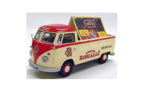 フォルクスワーゲン T1 Pritsche mit Werbeaufsteller Roncalli (1/43 プレミアムクラシックスPCS13902)