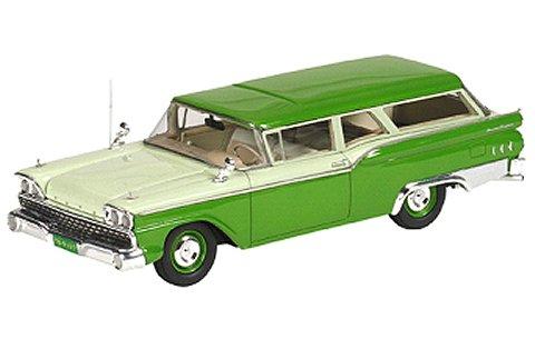 1959 Ford Ranch Wagon グリーン/ホワイト (1/43 ジェニュインフォードパーツFPM445)