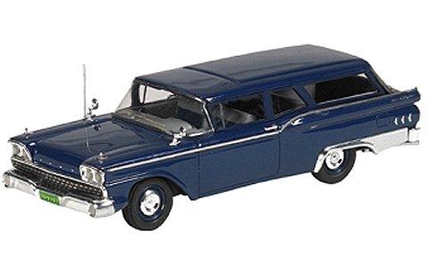 1959 Ford Ranch Wagon スチールブルー (1/43 ジェニュインフォードパーツFPM446)