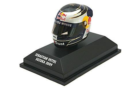 アライ ヘルメット S・ベッテル 鈴鹿 (日本GP) 2009 (1/8 ミニチャンプス381090401)