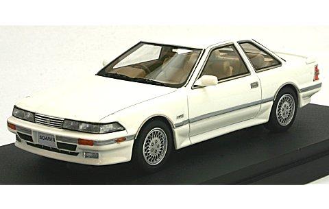 トヨタ ソアラ 3.0GT-リミテッド (E-MZ20) スーパーホワイトIII (1/43 マーク43 PM4315BW)