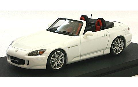 ホンダ S2000 (AP1) 2003 グランプリホワイト (ブラック/レッドインテリア) (1/43 マーク43 PM4310RW)