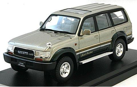 トヨタ ランドクルーザー 80 VX-LTD 1989 Mパッケージ (1/43 ハイストーリーHS124SP1)