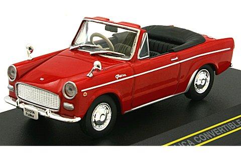 トヨタ パブリカ コンバーチブル 1964 レッド (幌無し) (1/43 ファースト43 F43-017)