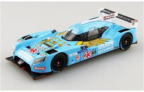 ニッサン GT-R LM ニスモ 2015 マンチェスターシティ FC (1/43 エブロ45251)