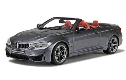 BMW M4(F83) カブリオレ Mグレー (1/18 GTスピリット GTS081)