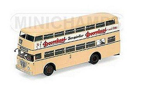 BUSSING D2U バス MIT OFFENEM HECKEINSTIEG 「DOORNKAAT」 (1/43 ミニチャンプス439071085)