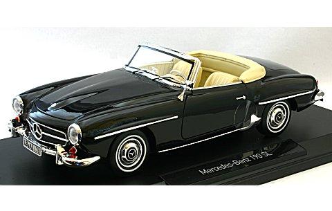 メルセデスベンツ 190SL 1957 ブラック (1/18 ノレブ183538)
