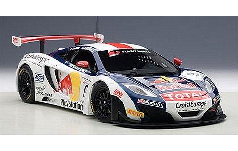 マクラーレン MP4-12C GT3 レッドブル No9 セバスチャン・ローブ/アルバロ・パレンテ (1/18 オートアート81342)