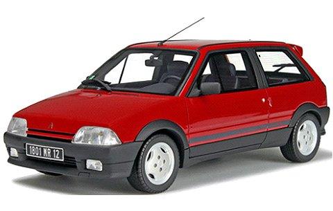 シトロエン AX GTI レッド (1/18 オットーモビルOTM620)