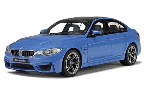 BMW M3 (F80) ブルー (1/18 GTスピリットGTS055)