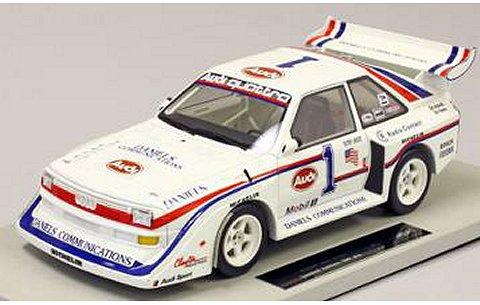 アウディ クアトロ S1 パイクスピーク 1986 ウイナー ボブ・アンサー (1/18 トップマーカスTOP029)