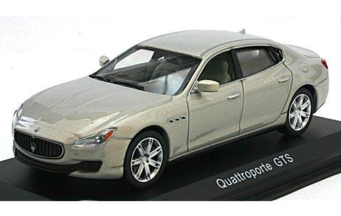 マセラティ クアトロポルテ GTS 2013 Mライトグレー (1/43 ホワイトボックスWBS039)
