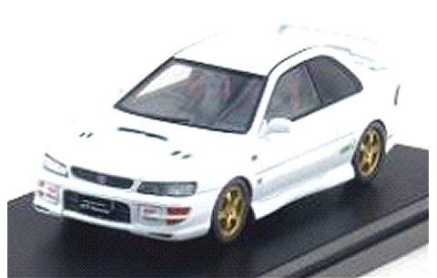 スバル インプレッサ WRX タイプR STi VerswionV 1998 ピュアホワイト (1/43 ハイストーリーHS134WH)
