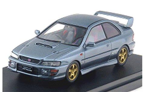 スバル インプレッサ WRX タイプR STi VerswionV 1998 クールグレーM (1/43 ハイストーリーHS134GY)