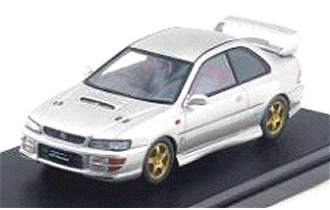 スバル インプレッサ WRX タイプR STi VerswionV 1998 アークティックシルバーM (1/43 ハイストーリーHS134SL)