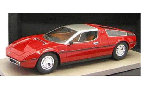 マセラティ ボーラ 1977 レッド (1/18 トップマーカスTOP025A)