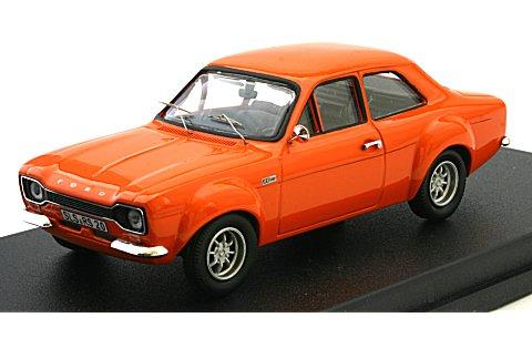 フォード エスコート I RS 2000 ダークオレンジ (1/43 ホワイトボックスWBX0007)