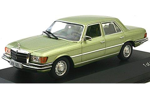 メルセデス 450 SEL (W116) 1975 Mライトグリーン (1/43 ホワイトボックスWB127)