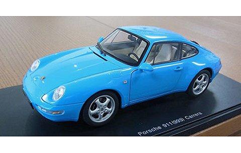 ポルシェ 911 (993) カレラ 1995 ブルー (1/18 オートアート78133)