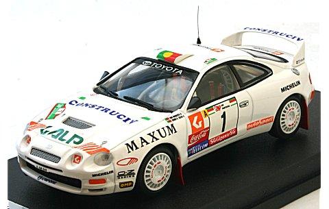 トヨタ セリカ GT-Four 「Galp」 1996 ポルトガルラリー 1位 (1/43 トロフューRRal30)