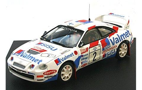 トヨタ セリカ GT-Four 1995 1000湖ラリー (1/43 トロフュー709)