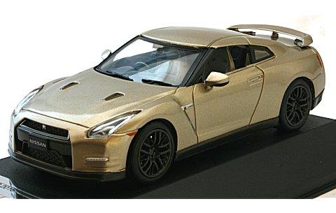 ニッサン GT-R 45th Anniversary ゴールドエディション 「限定版」 シリカブレス (1/43 プレミアムX PRD516J)