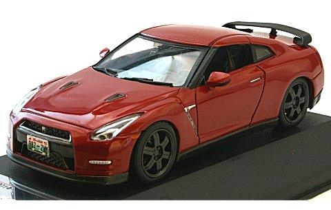 ニッサン GT-R ブラックエディション 2014 Mレッド (1/43 プレミアムX PRD517J)