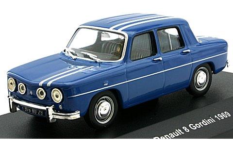 ルノー 8 (ユイット) ゴルディーニ 1300 ブルー (1/43 ソリドS4300100)